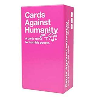 Brand New Cards Against Humanity for Her