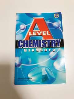 A Level Chemistry Glossary