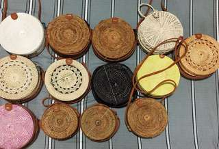 Rattan Woven Bags from Bali 🇮🇩