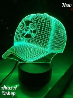Lampu Hias LED 3D TOPI