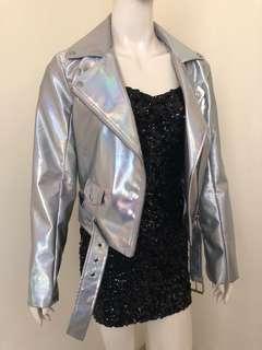 Hologram Jacket Forever21