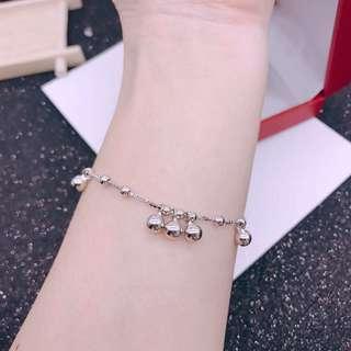 🚚 時尚光珠手鍊 足銀925