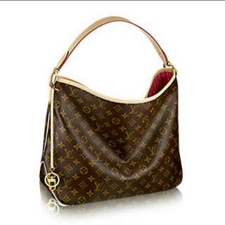 Authentic LV delightful PM in pivone interior