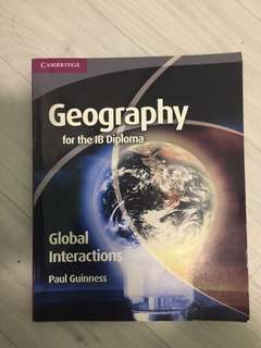 🚚 IB Geography Textbook