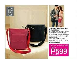 Anna & Alvin Sling Bag Set