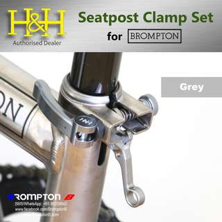 H&H Seatpost Clamp Set (for Bromptons)