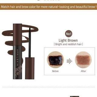 $2.90 April Skin Magic Brow Tattoo Gel #1 Light Brown