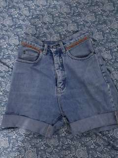 Preloved Denim Highwaist Short