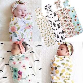 3pcs Soft Muslin Newborn Baby Blanket Bedding Blanket Wrap Swaddle Blanket Bath