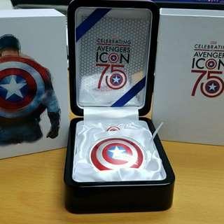 Avengers Captain America Coins 美國隊長限量銀幣