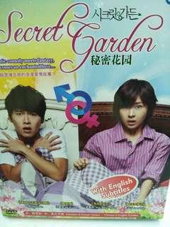 秘密花园 secret garden Korean drama Dvd