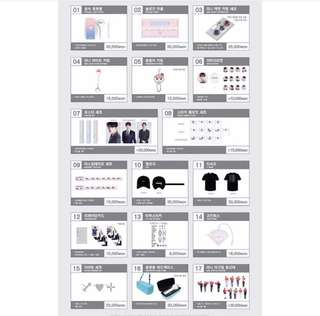 SEVENTEEN IDEAL CUT MERCH