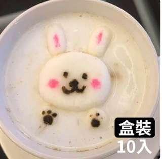 天天果園 漂浮動物立體造型棉花糖球盒裝(10入)