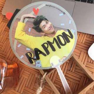 (INSTOCK) RM Kim Namjoon Fansite Transparent Fan Goods