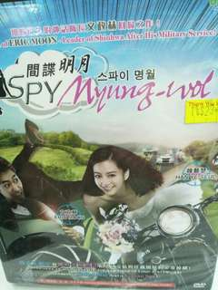 間谍明月 spy myung wol Korean drama Dvd