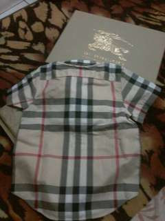 Burberry vintage  checked shirt