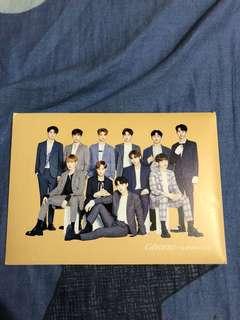 Wanna one代言Post card