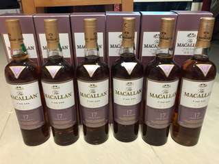 Macallan Fine Oak 17 (已停產)