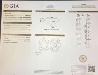 GIA 鑽石 5卡巨鑽😀