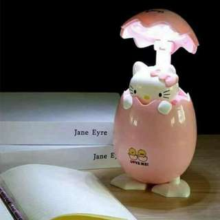 Hello Kitty Egg Lamp