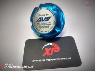 Avs engine oil cap for honda blue color