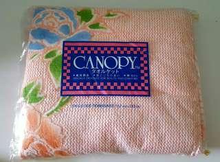 Single towel blanket