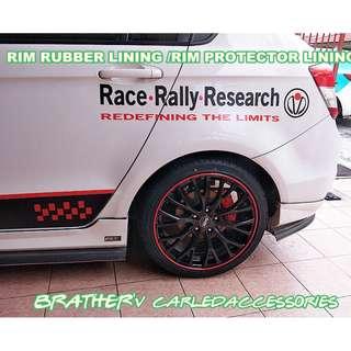 (6) Rim Lining Rim Protector Lining