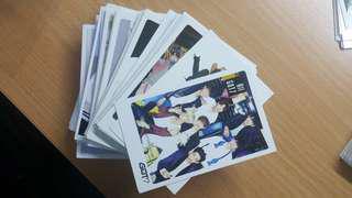 100 Got7 cards