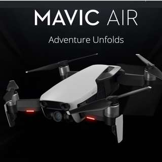 DJI MAVIC AIR STANDARD SET - ONE YEAR WARRANTY/BRANDNEW SEALED