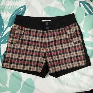 MAXTINO checkered shorts