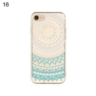 Soft case iPhone 5, 5C, 5S, 6, 6S, 7, 8 Plus, X