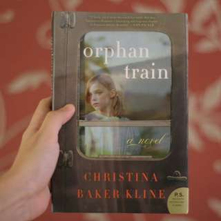 Orphan Train by Christina Baker Kline (import novel)