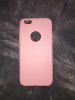 Pink TPU iPhone 6/6s case