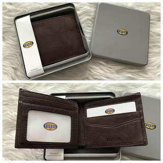 Dompet fossil new dengan box