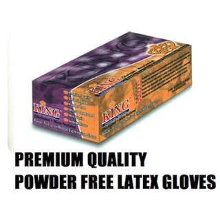 🚚 POWDER FREE LATEX MEDICAL EXAMINATION GLOVES ( PREMIUM QUALITY)