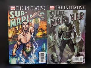 The Initiative Sub-Mariner #1~#6 Full Run