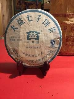 普洱茶餅:2007年大益7542(生茶/青餅)