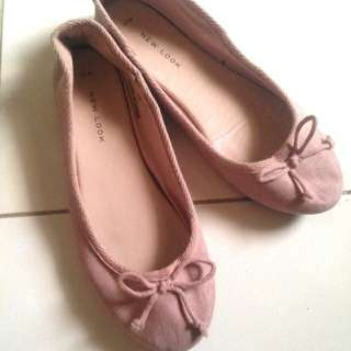 New Look Pink Flat Shoes