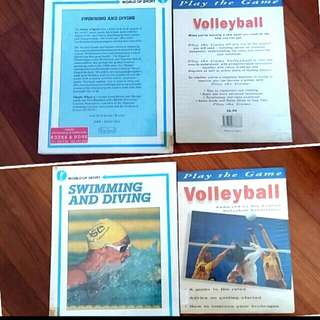 2 Play Volleyball // Swimming & Diving