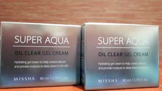 Super Aqua Oil Clear Gel Cream