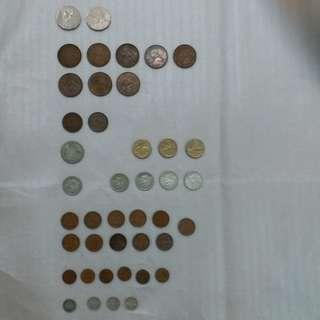 【錢幣收藏】澳洲舊硬幣 (全套43個)  Old Australian coins