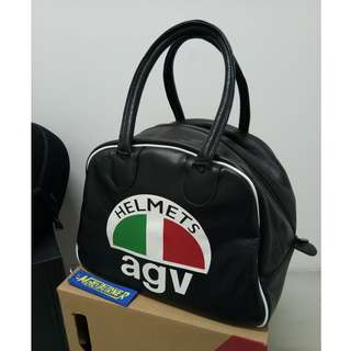 AGV leather bag