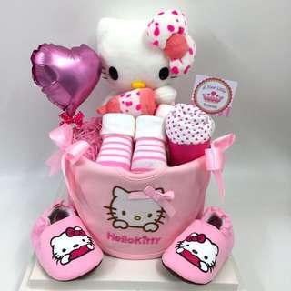 Ready stock- Hello kitty Baby Diapers Cake