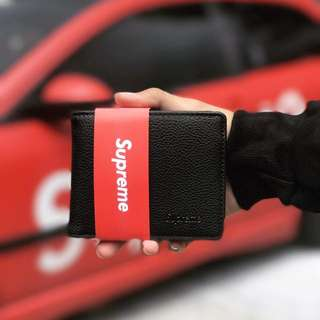 Supreme Leather Wallet