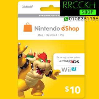 ●Cheap [USD10] Nintendo eShop Gift Card for Switch/3DS/Wii etc.