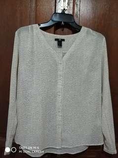 HnM office blouse
