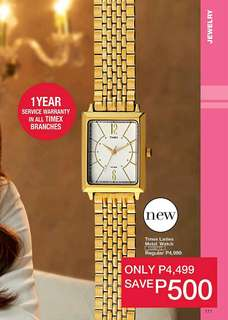 Timex Ladies Metal Watch