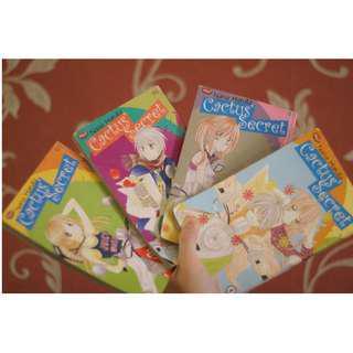 Komik Cactus Secret by Nana Haruta (set buku 1-4)