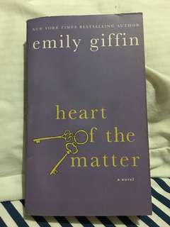Emily Giffin's Heart of the Matter