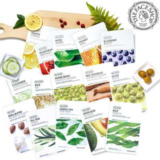 The Face Shop - Real Nature Sheet Mask (New Packaging)
